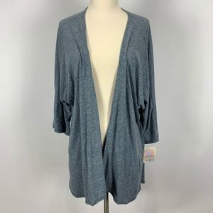 NEW LuLaRoe Lindsay grey heathered cardigan